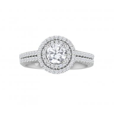 Charmed By Richard Calder 1.02CTW Diamond Engagement Ring