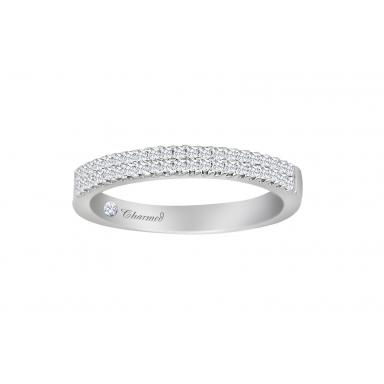 Charmed By Richard Calder 0.30CTW Diamond Wedding Band