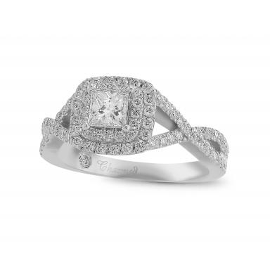 Charmed By Richard Calder 1.12CTW Diamond Engagement Ring