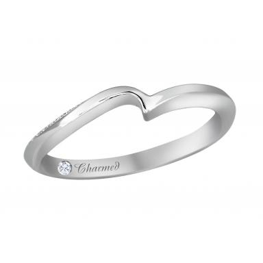 Charmed By Richard Calder 0.12CTW Diamond Wedding Band