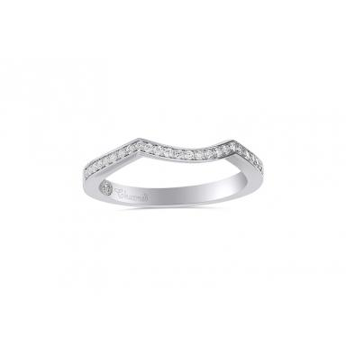 Charmed By Richard Calder 0.20CTW Diamond Wedding Band