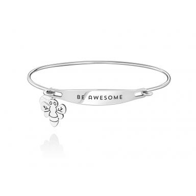 Sterling Silver Be Awesome Medium/Large