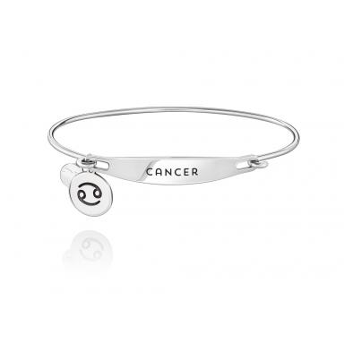Sterling Silver Cancer Medium/Large