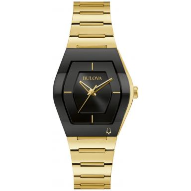 Bulova Women's Futuro Gold Tone Watch