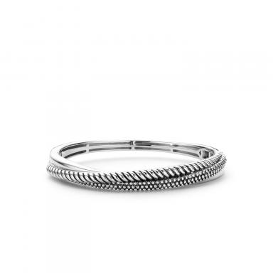 Ti Sento Three Strands Twisted Bangle